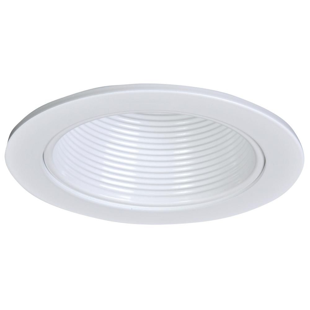 Halo 4 In White Baffle Ceiling Light Recessed Trim Apert401wht