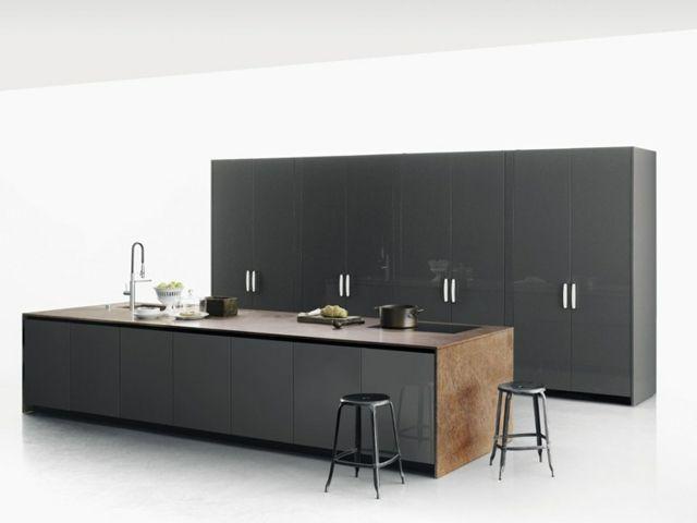 naturstein küche moderne küchenmöbel kochinsel | kitchen, Kuchen