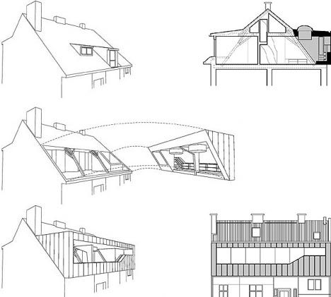 Modern Roof Space Addition Ta Court St Pinterest