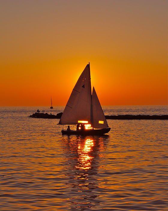Sailboat Sunset   Sailing, Sailboat, Sunset