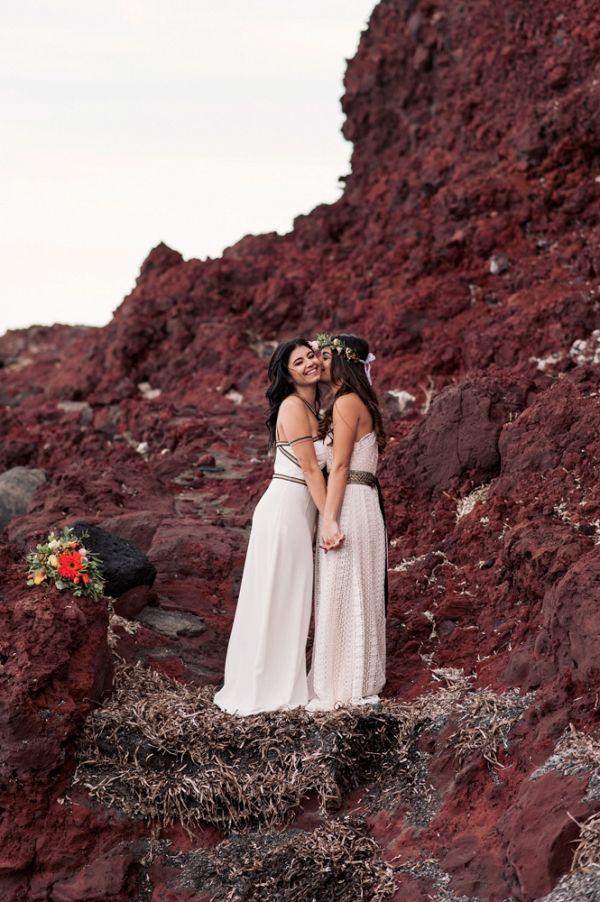 38206d9a99 Picturesque Greek Bohemian Wedding Inspiration