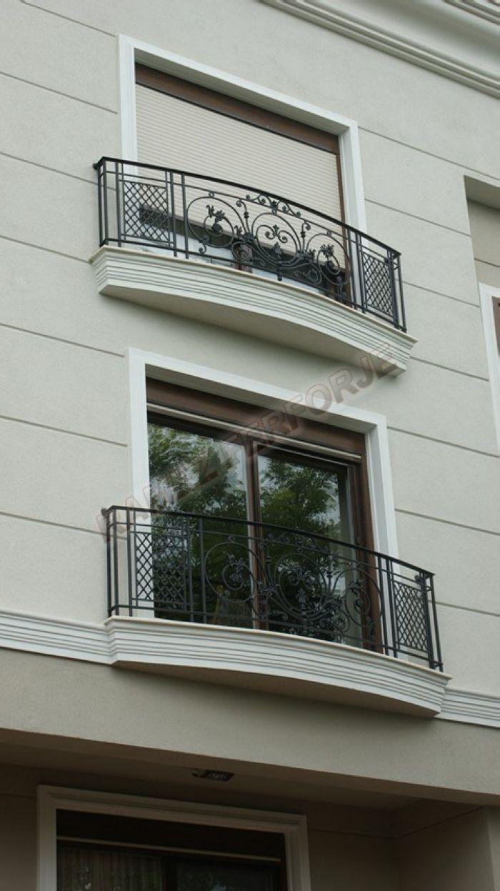 Ferforje balkon korkuluğu modeli el işçiliği fransız balkon french balcony wrought iron balcony www ramezferforje com tr