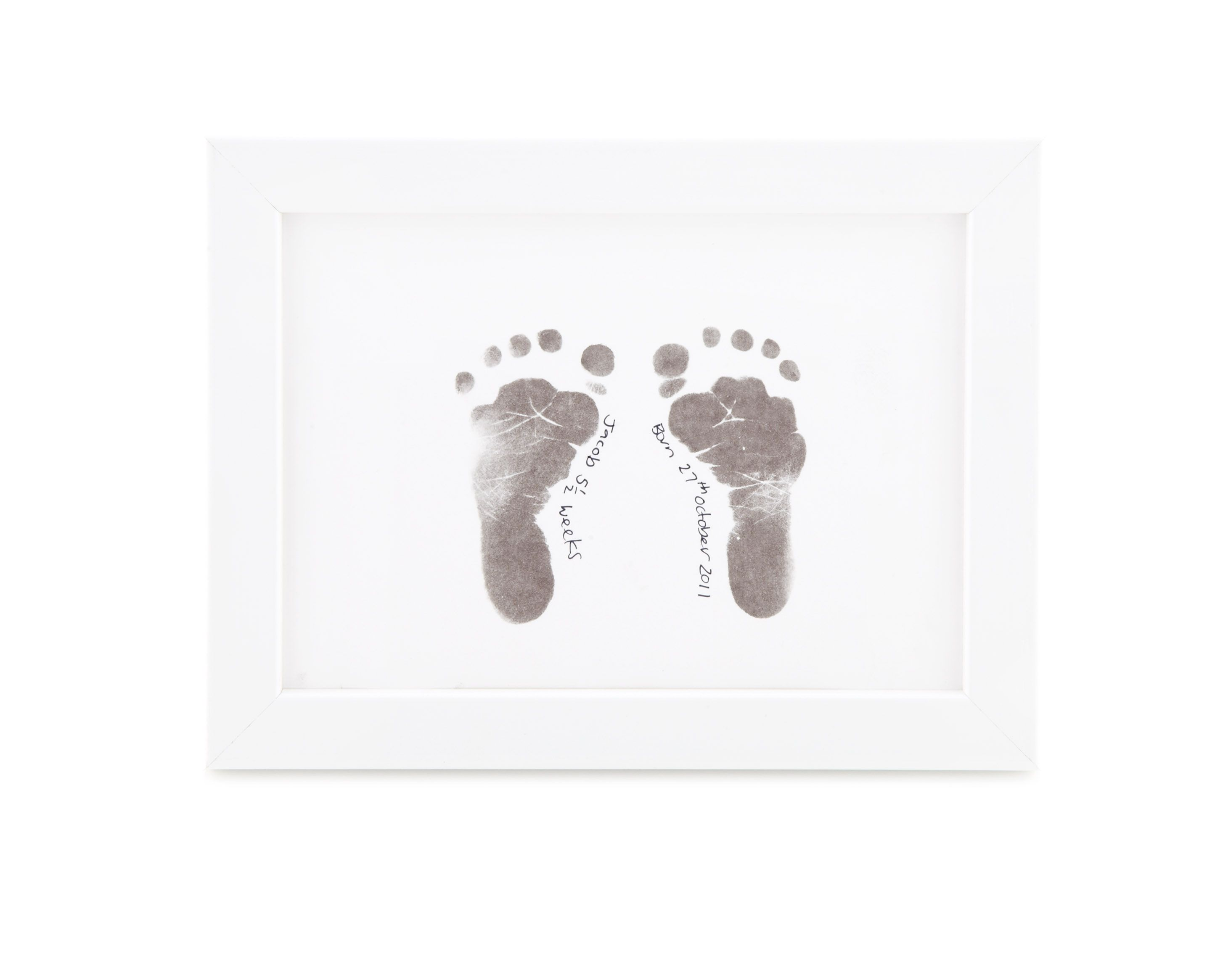 Framed Baby Footprints