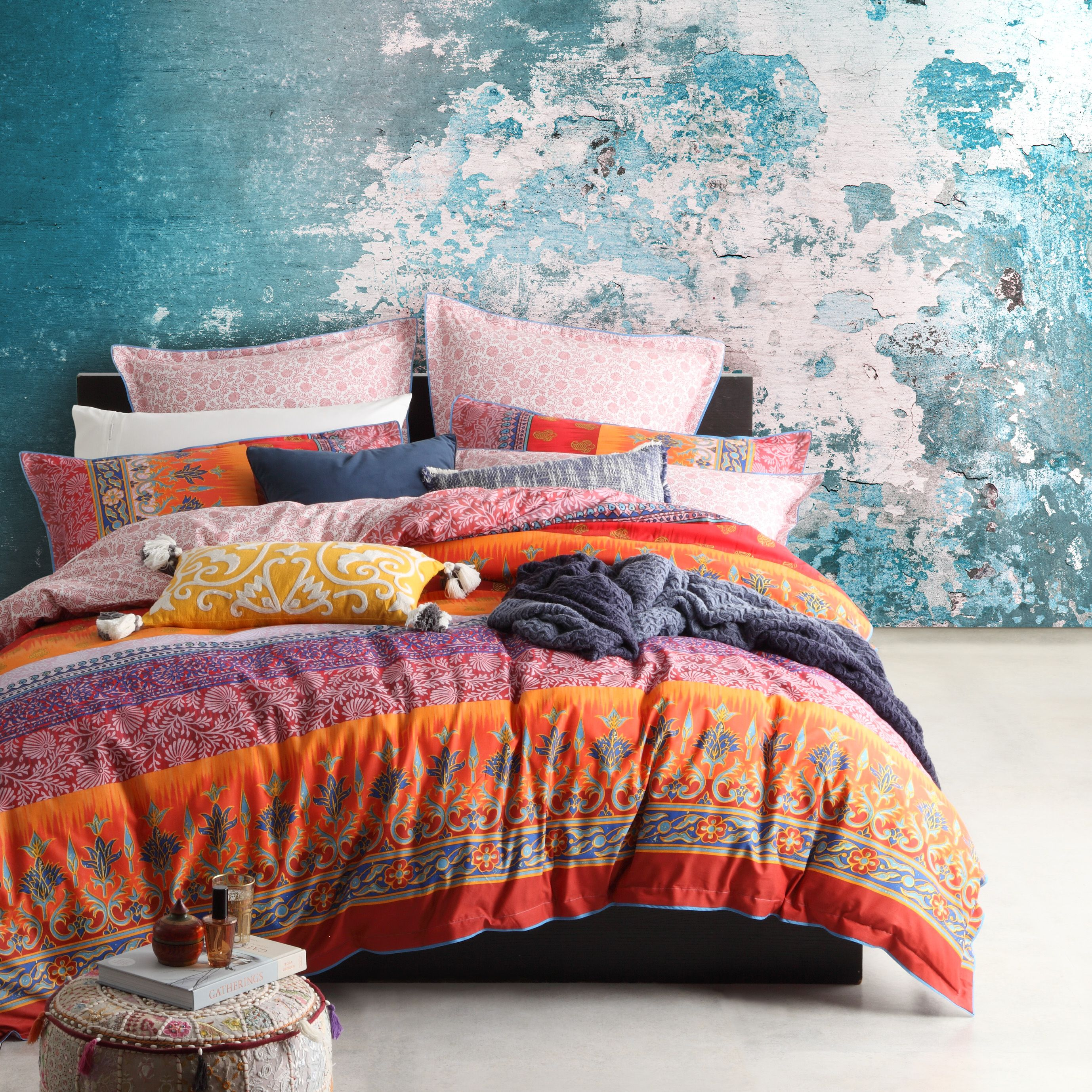 India Spice Brings Boho Chic To The Bedroom Panels Of Indian