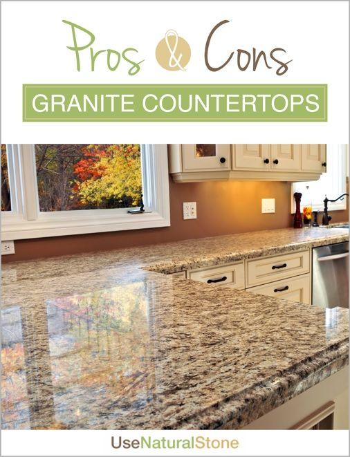 Pros Cons Of Granite Factors You Should Consider Granite Countertops Quartz Kitchen Countertops Types Of Kitchen Countertops