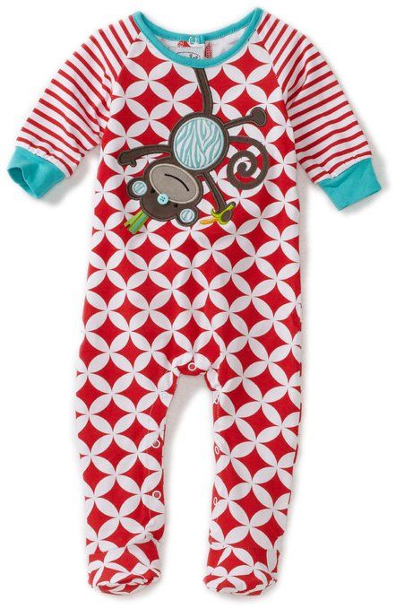 12 Mos New Mudpie Infant Boys Play All Day 2 pc Set