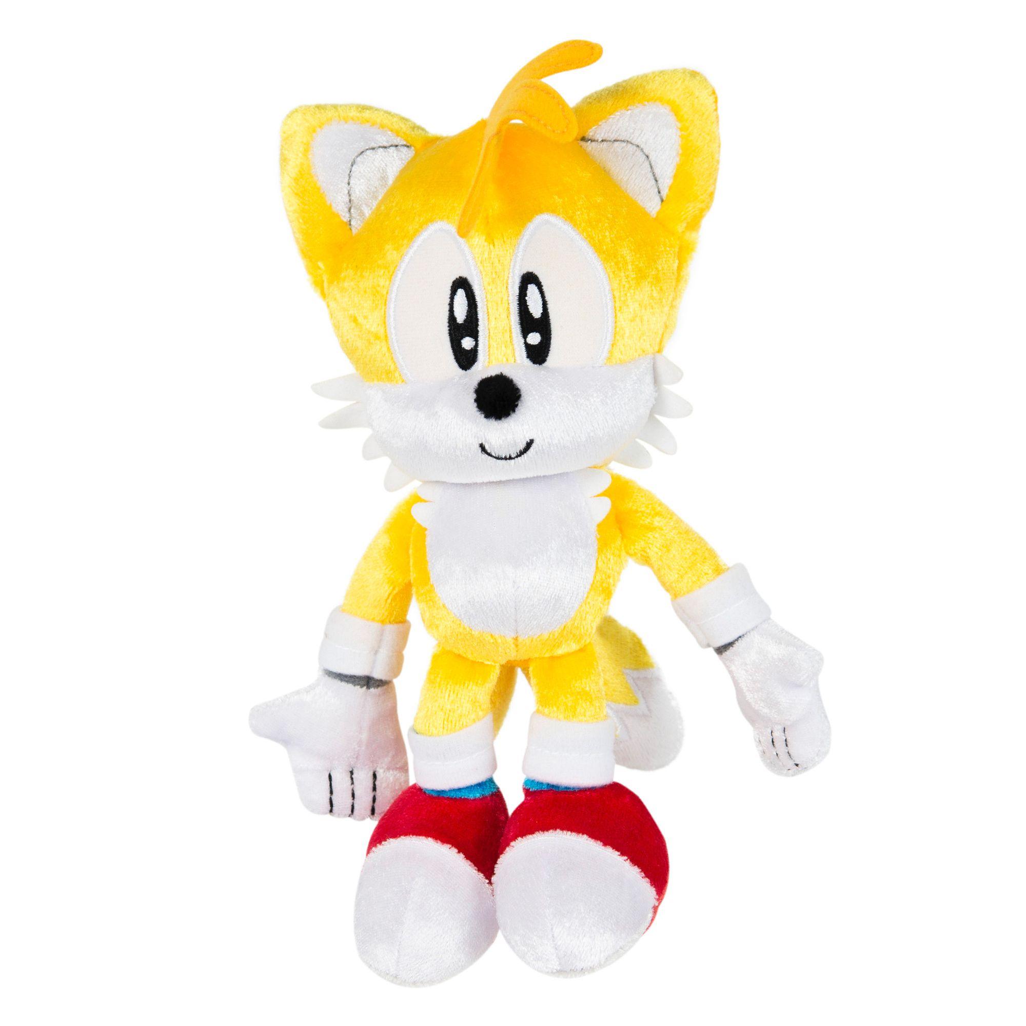 Sonic The Hedgehog 25th Anniversary Small Plush Tails 1992 Sonic 25th Anniversary Sonic Plush Toys Plush