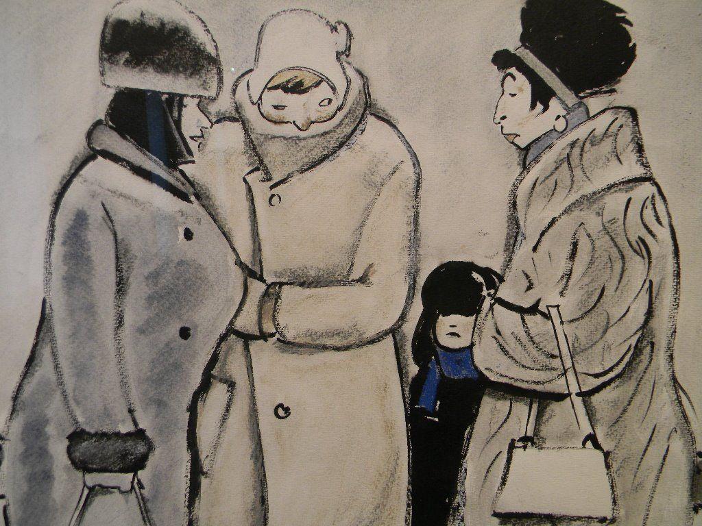 The life of Soviet people in the cartoons of Leonid Soifertis
