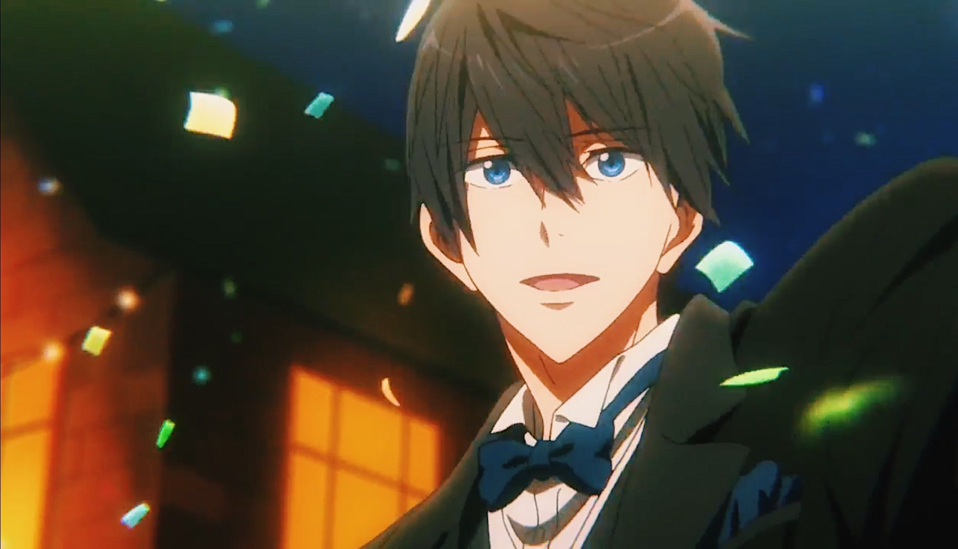 Haru Smiling I Think This Is What We All Wanted Freeanime Iwatobiswimclub Divetothefuture Harukananase Free Iwatobi Swim Club Free Anime Free Iwatobi