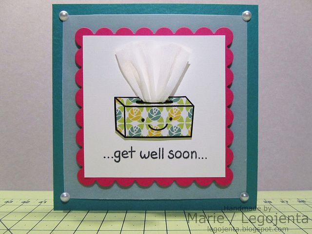 Exceptional Card Making Ideas For Get Well Cards Part - 12: Lawn Fawn On The Mend My Creative Creations - Handmade By Marie: Get Well  Soon Card