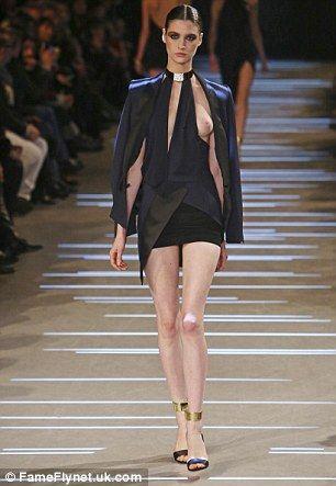 Revealing Fashion Show Dresses