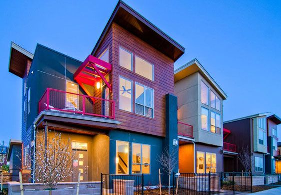 Edge By Wonderland Homes Wonderland Builds Attached And Detached Homes In Stapleton Home Types Of Houses Old Houses