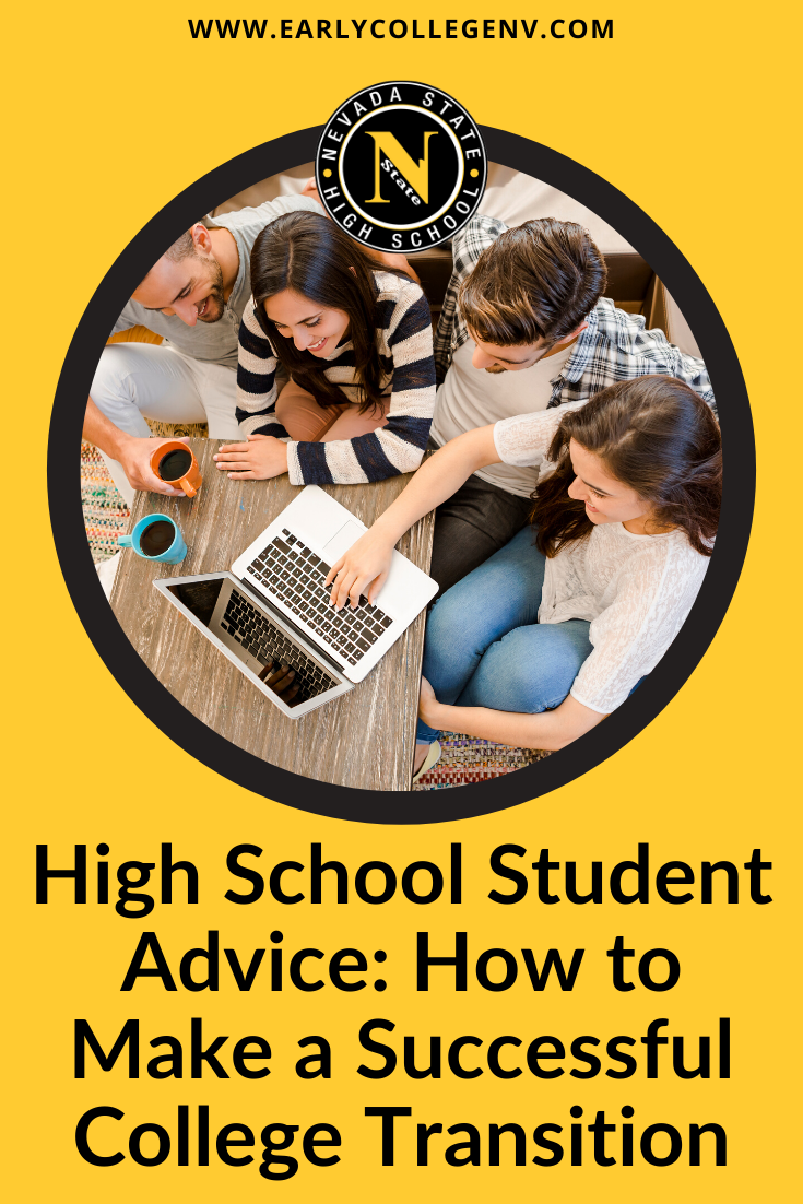 Make A Successful College Transition With Nshs In 2020 High School Students High School College