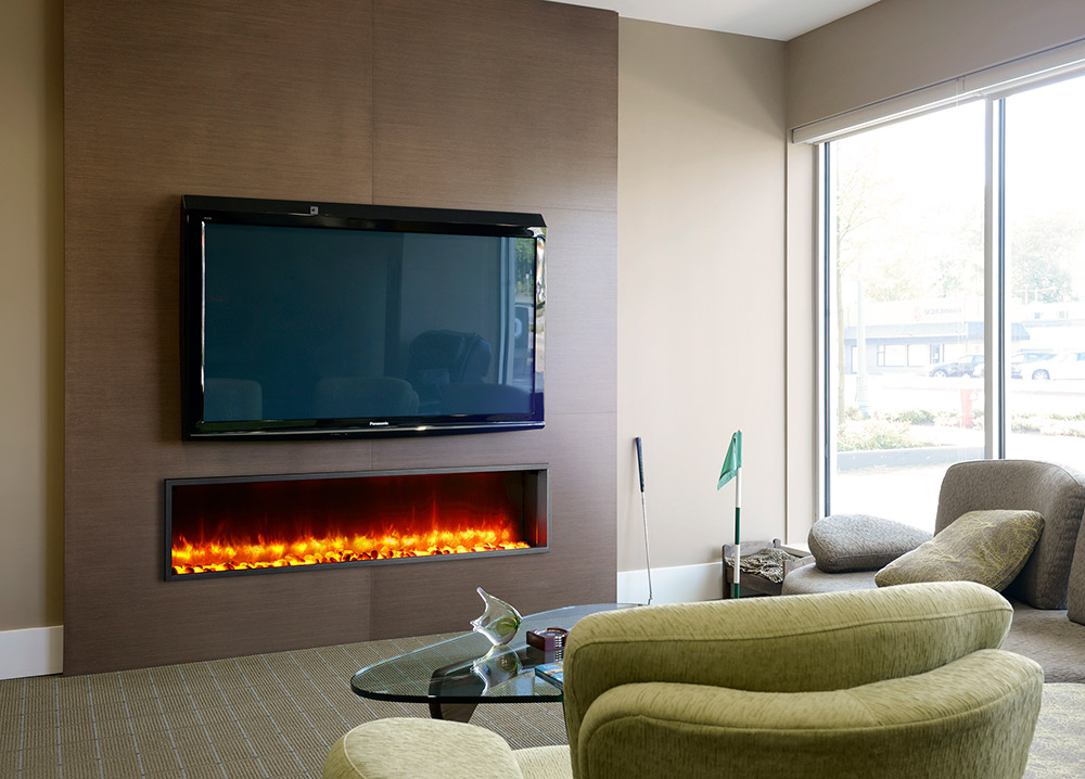 Dynasty 63 In Built In Electric Fireplace Dy Bt63 Built In