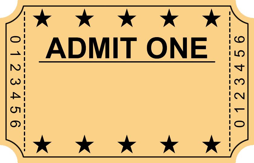 Ticket Png 840 540 Ticket Design Template Movie Ticket Template Ticket Template Free