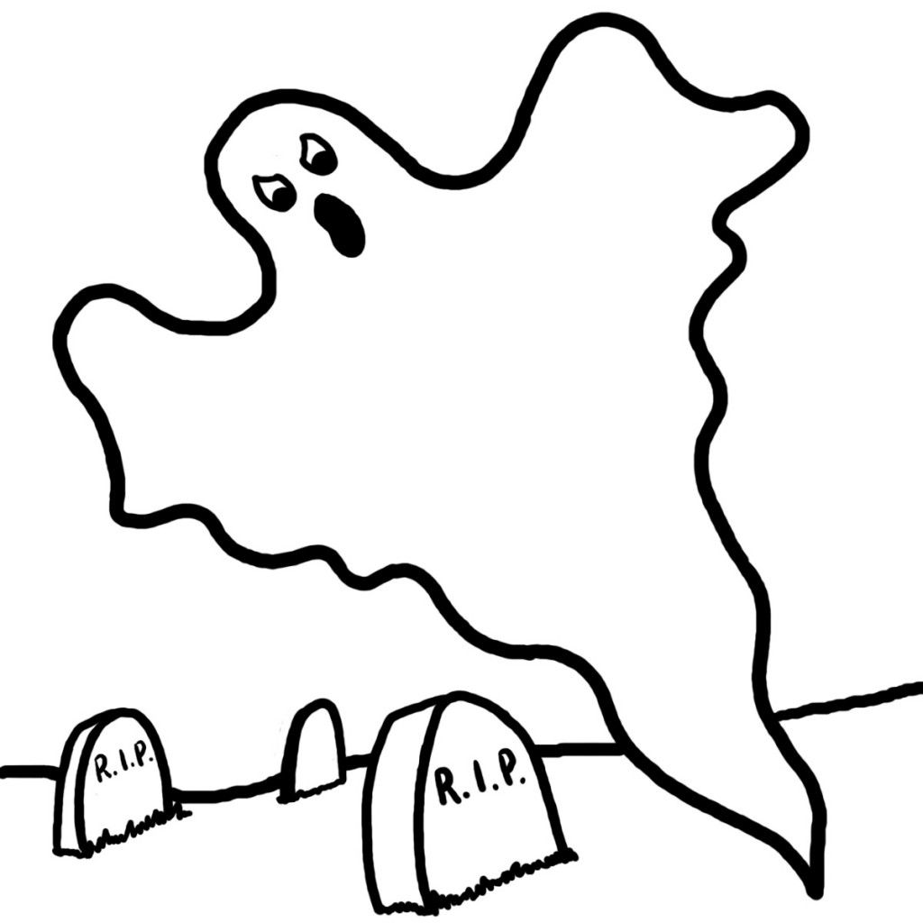 Free Printable Ghost Coloring Pages For Kids Free Halloween