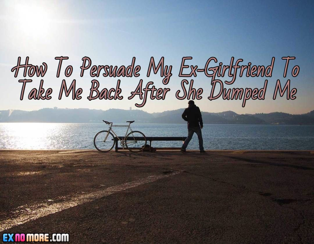 How To Persuade My Ex-Girlfriend To Take Me Back After She Dumped Me