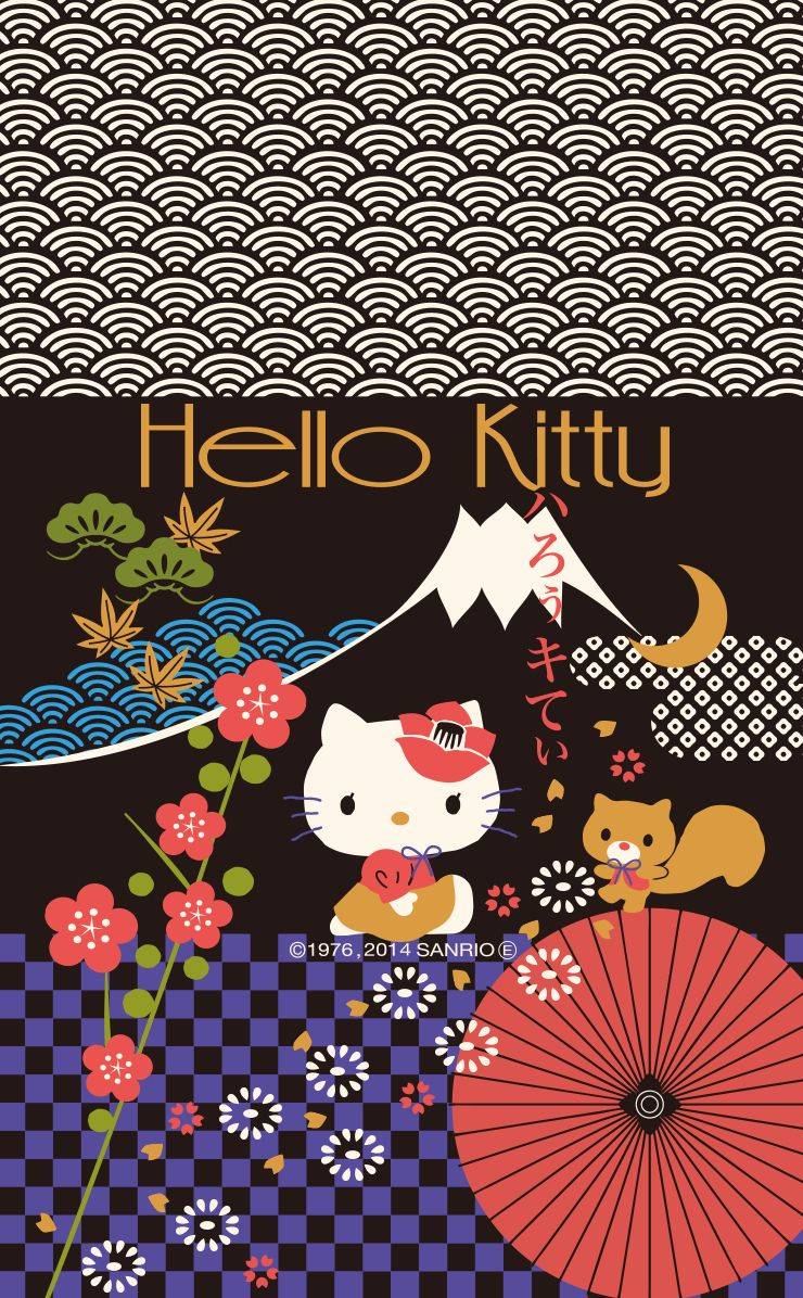 HK hello kitty sanrio japan iphone 6 wallpaper (You can modify it using an iphone 6 wallpaper ...