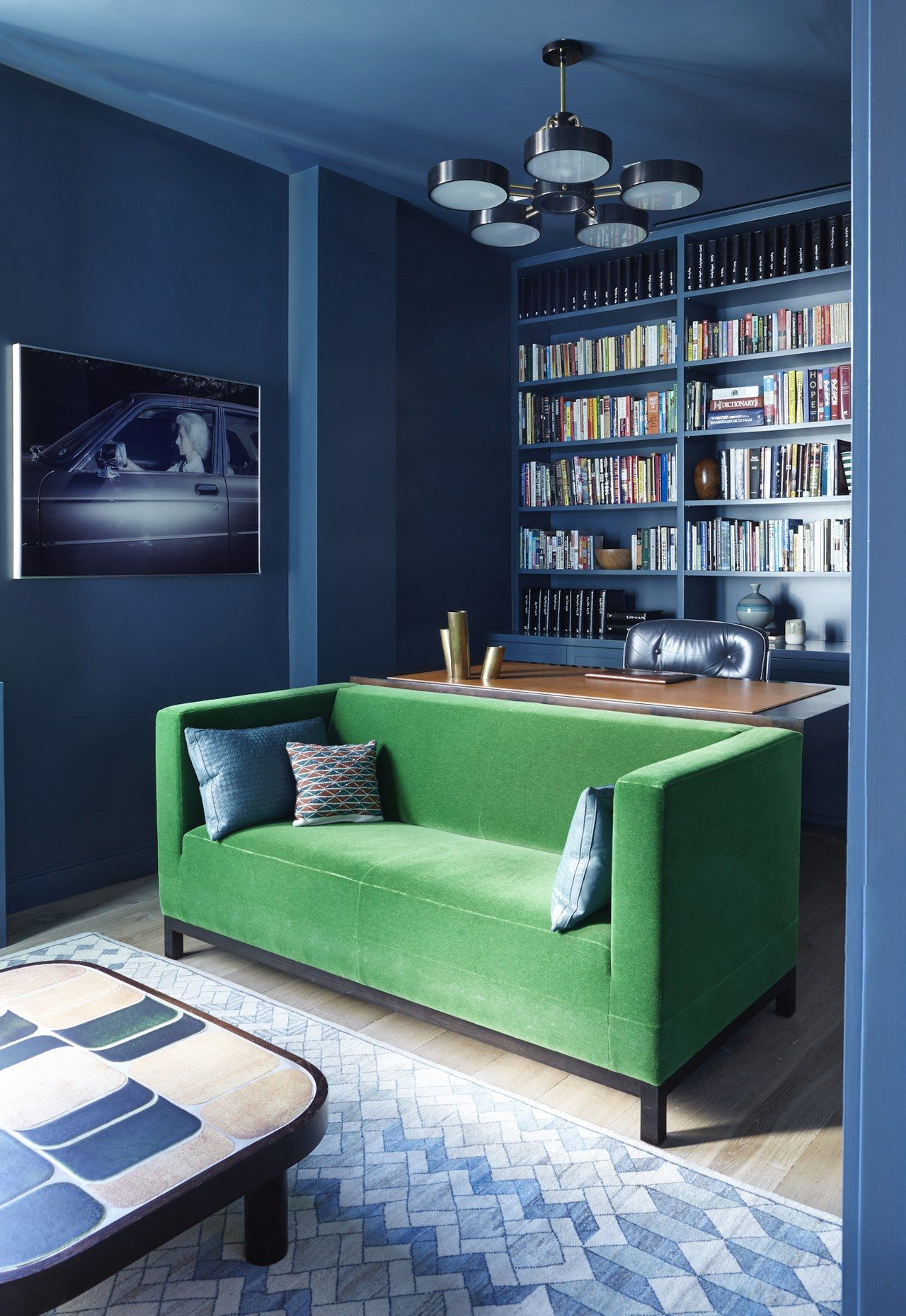 Sofa In Home Office An Expansive Greenwich Village Loft That S Finally Ready For