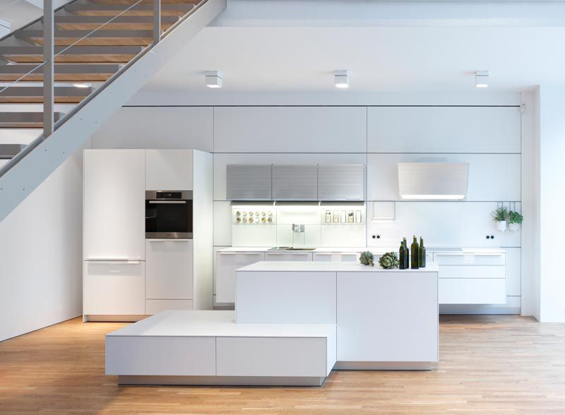 Bulthaup Berlin bulthaup b3 white kitchen bulthaup kitchens and spaces
