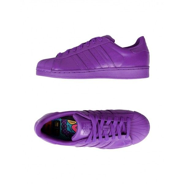 b0fef25c07db Shop Adidas Originals x Pharrell Williams Superstar Supercolor... ❤ liked  on Polyvore featuring