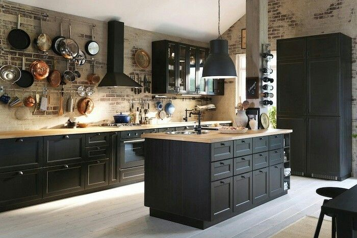 Cuisine rustique moderne | Home | Pinterest | Kitchens, House and ...