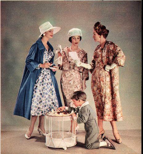 1957 Brigitte Hochzeit Mode Fur Schwagerin Tante Brautmutter