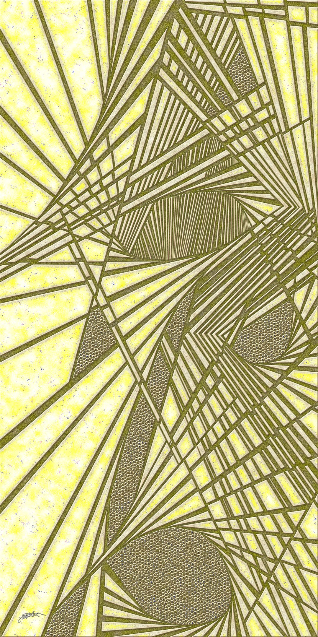 amber house - Optical Obsession cast in Virtual Shattered Glass by Douglas Christian Larsen, homage and tribute to authors Kelly Moore, Larkin Reed, and Tucker Reed - http://www.imagekind.com/amber-house_art?imid=9c0313c9-2db3-4b9a-898c-98e0a18d92b6