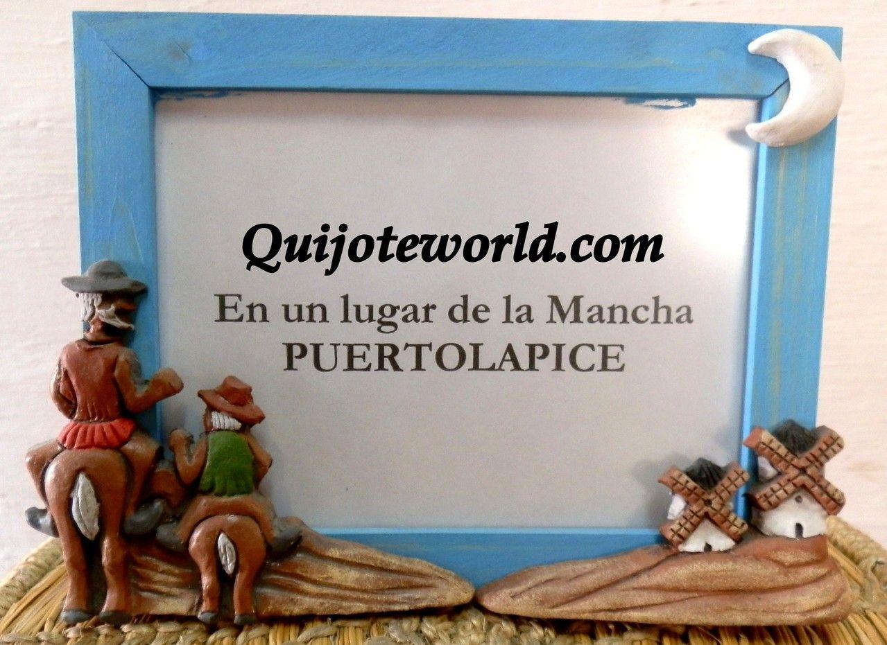 Marcos para fotos, decoración Don Quijote de la Mancha - Quijoteworld, ideas para decorar