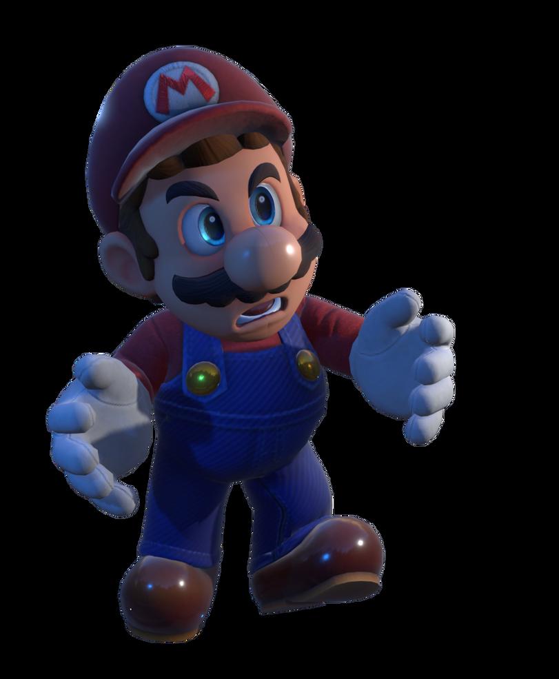 Mario Odyssey In Game Model Render By Https Www Deviantart Com Thiscgidude On Deviantart Mario Mario Characters Model