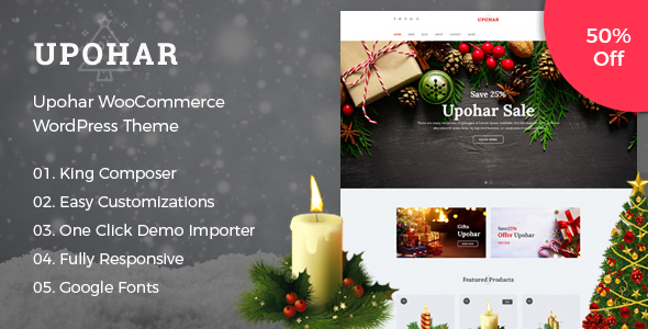 Upohar Gift Shop Premium WordPress Theme