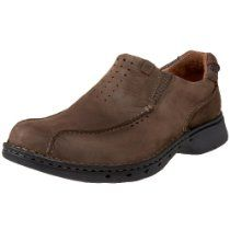 clarks unstructured men's unseal casual slip on with