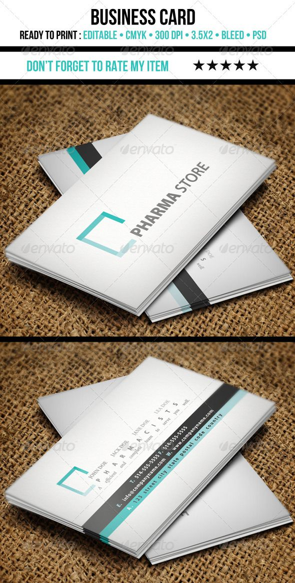Medical Business Card | Fonts-logos-icons | Pinterest | Business ...