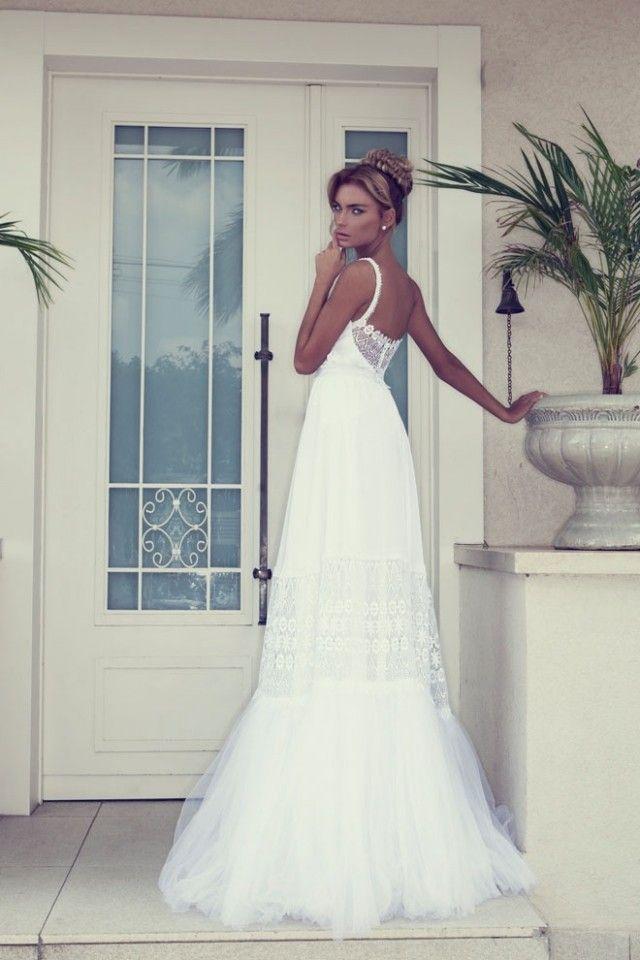 Hochzeitskleid mit spitze ruckenfrei