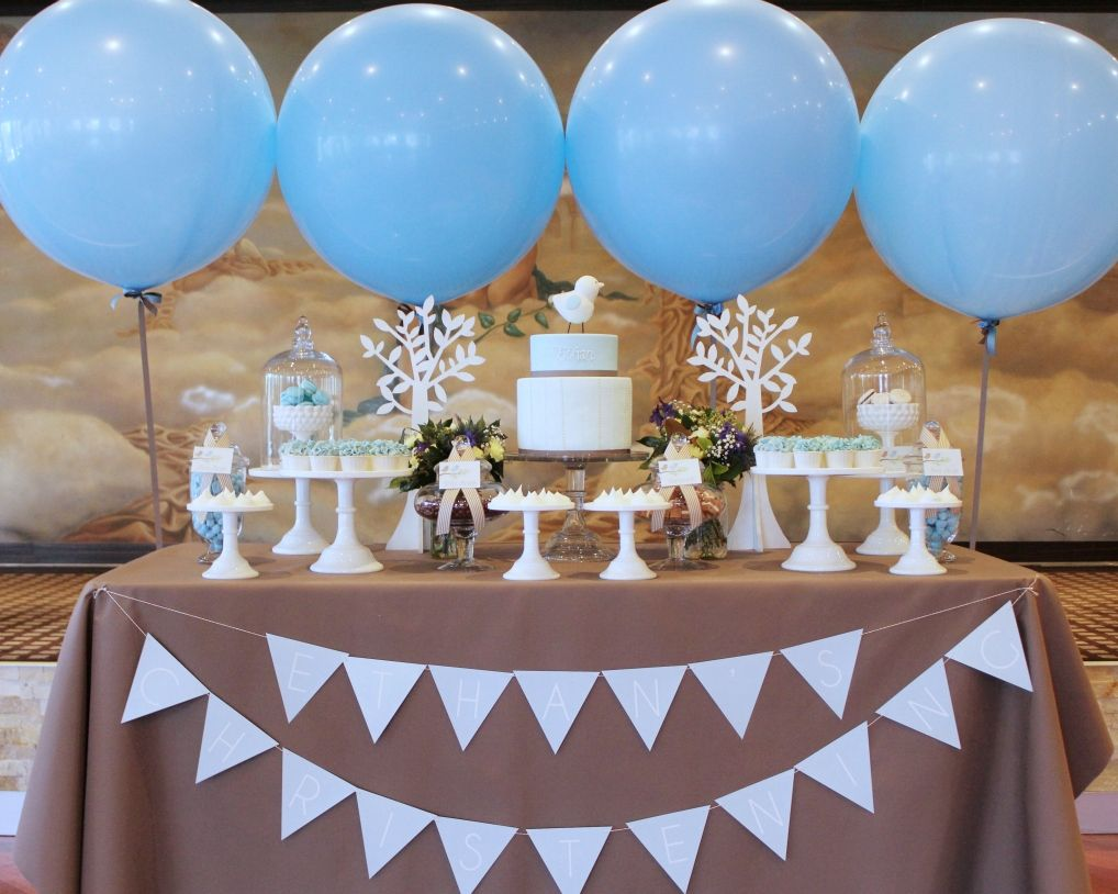 Ethan S Dessert Table Styled By My Little Jedi