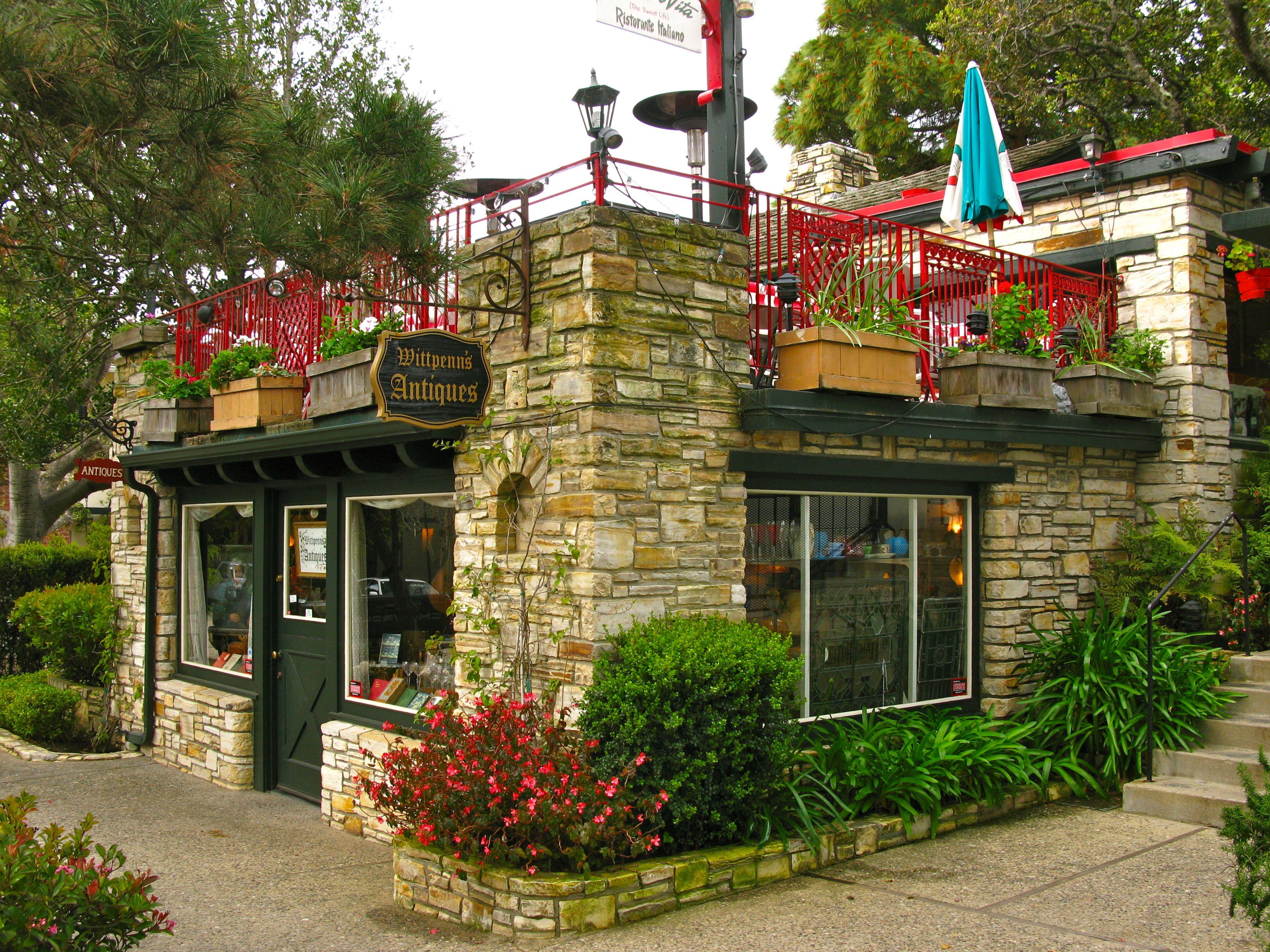 Wittpenn\'s Antiques on the bottom & La Dolce Vita on top (Carmel, CA ...