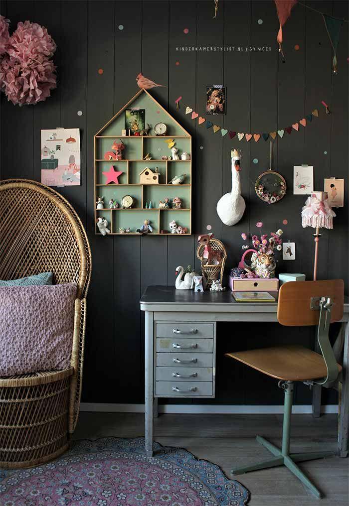 Stoere meidenkamer idee  Ideeen nieuwe kamer esmee  Kind