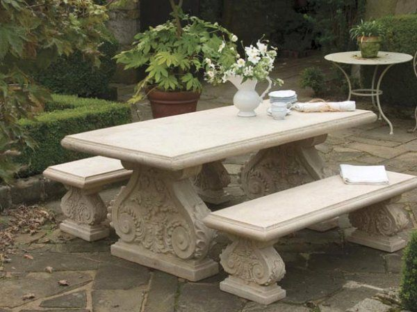 Stone Benches In 2019 Bench Garden Table Chairs