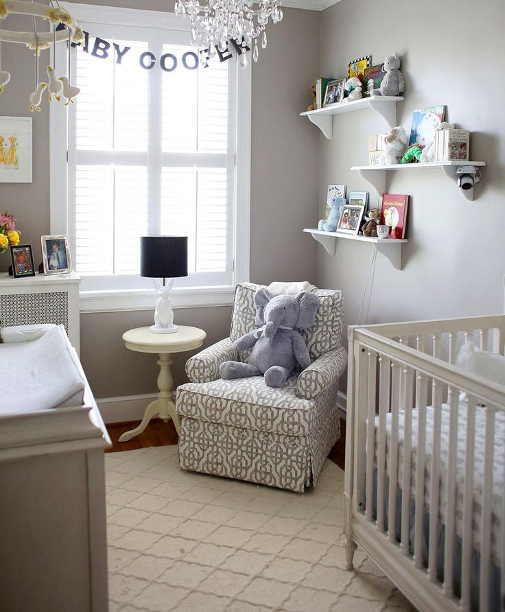 Design Tips For Small Nurseries Small Baby Room Small Baby
