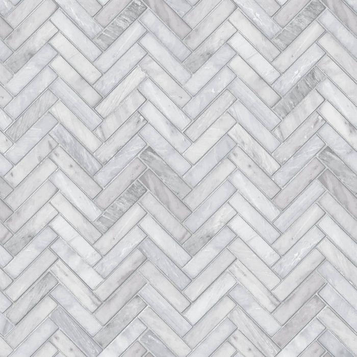 Marble Herringbone Tile Peel Stick Wallpaper Gray Threshold Herringbone Tile Marble Herringbone Tile Herringbone Wallpaper
