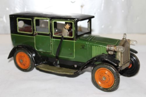 toys #vintagetoys Antique Germany GBN BING TAXI LIMOUSINE