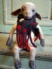 Swig, mouton frileux - verfrorenes schaf: