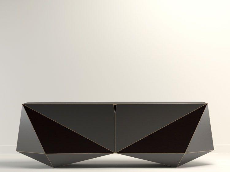 UntoThisLast Faceted Sideboard Furniture Table1 Pinterest - boca do lobo sideboard designs