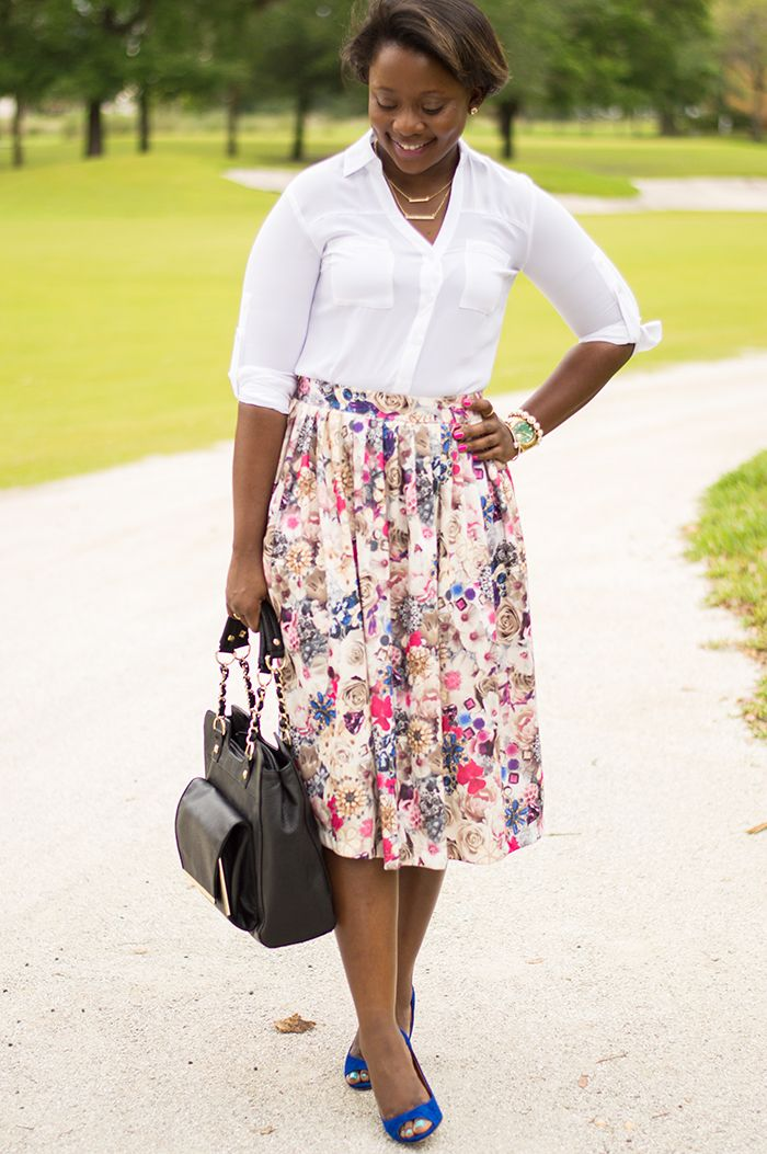 How to wear a midi skirt to work | To work, How to wear and Midi ...