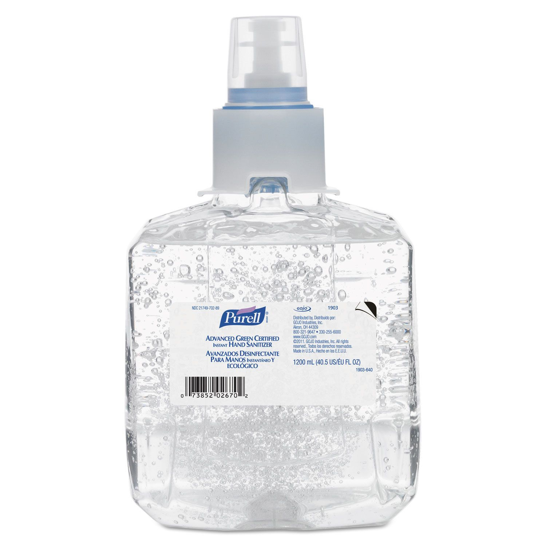 Purell Adv Green Cert Instant Hand Sanitizer Refill 1200ml
