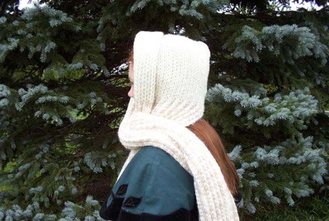 Hooded Scarf Patterns Hooded Scarf Pattern And Hooded Scarf