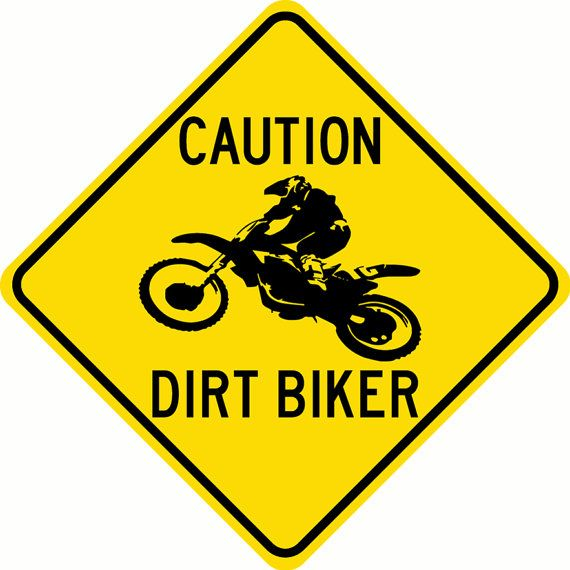 BIKER ALUMINUM STREET SIGN MOTORCYCLE BIKE