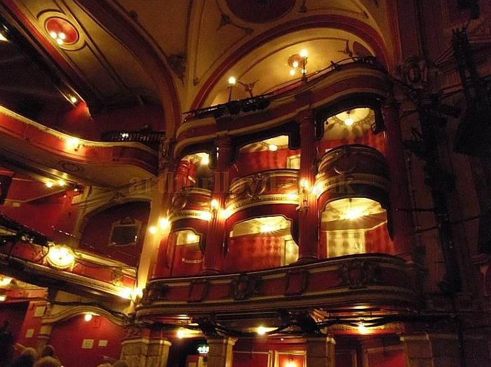 The Auditorium of the Bristol Hippodrome in 2011 - Courtesy Charles S. P. Jenkins