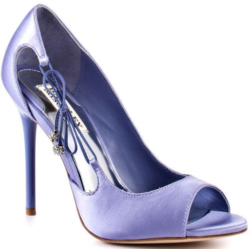 Badgley Mischka Women S Wanda Blue Satin Find This Pin And More On Wedding Guest Shoes Handbags