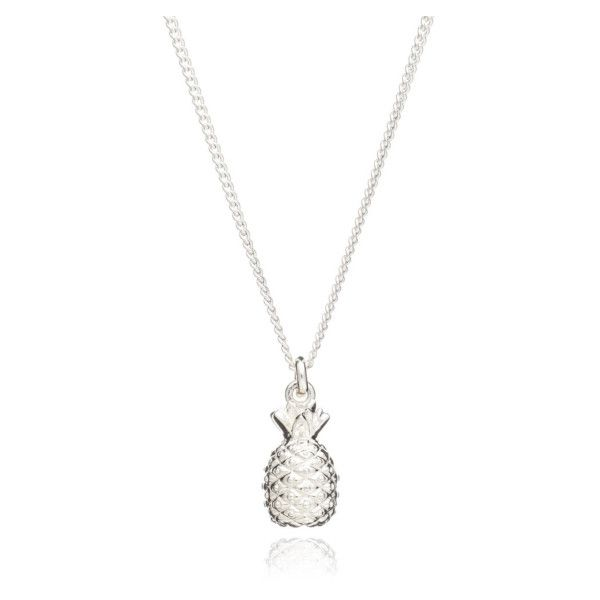 Mini silver pineapple necklace 58 liked on polyvore featuring mini silver pineapple necklace 58 liked on polyvore featuring jewelry necklaces aloadofball Image collections